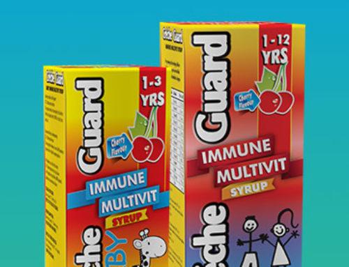 Creche Guard Immune Multivit Syrup 200 ml